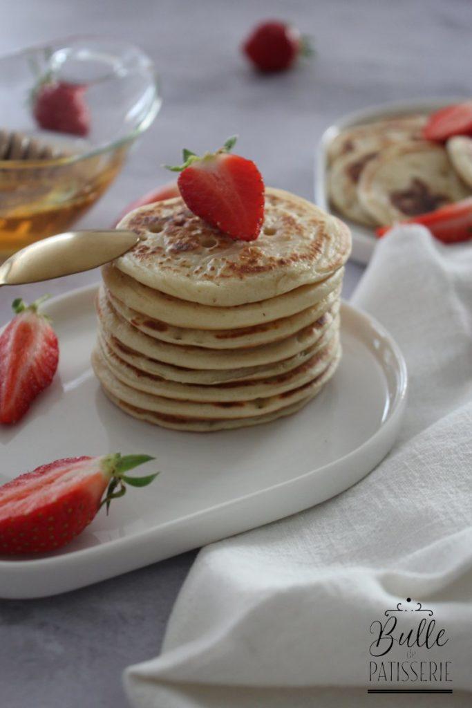 Petit-déjeuner : pâte à pancakes sans repos