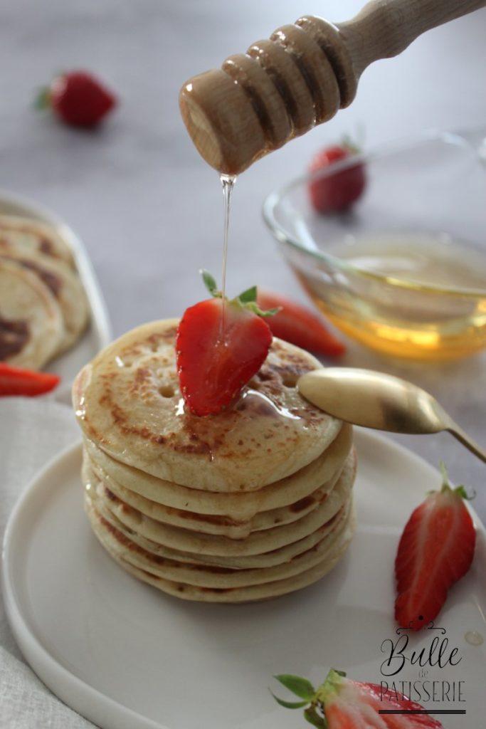 Recette de Pancakes express sans temps de repos