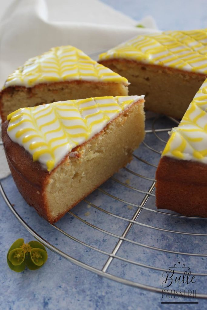L'Amandier, recette de gâteau fondant aux amandes