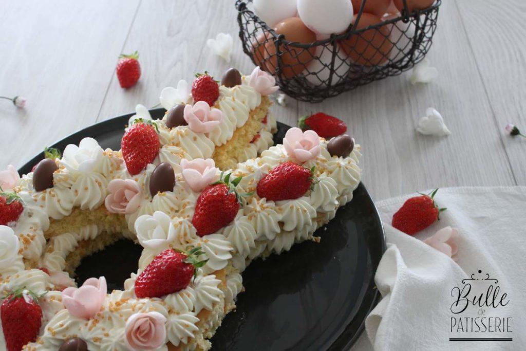 Recette de Pâques : Bunny Cake façon Number Cake
