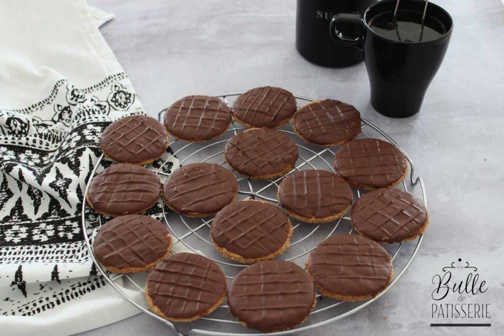 Recette facile : biscuits Granola au chocolat