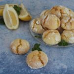 Petits biscuits au citron : lemon crinkles