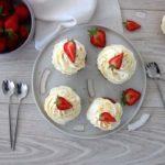 Cupcakes maison aux fraises