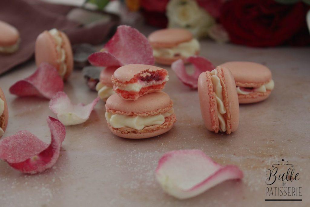 Idée recette pour la Fête des Mères : macarons rose-framboise