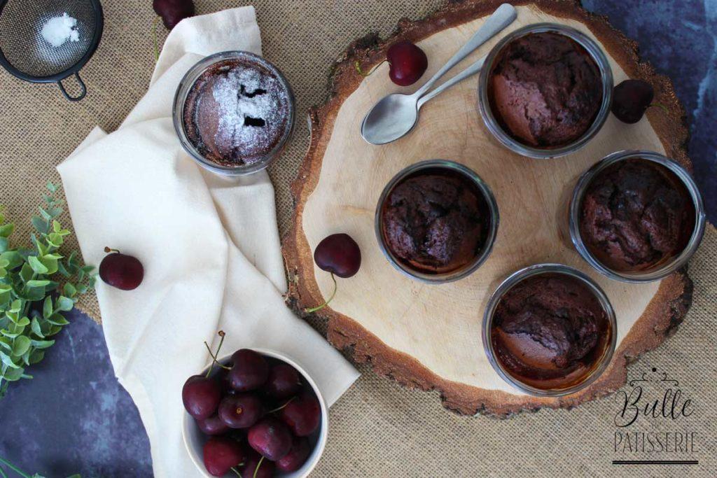 Recette maison : clafoutis cerises au chocolat