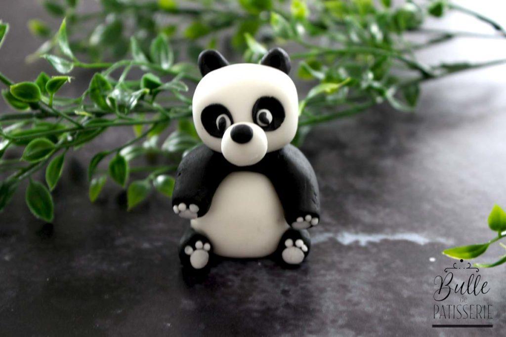 Décoration gâteau d'anniversaire enfant : le panda