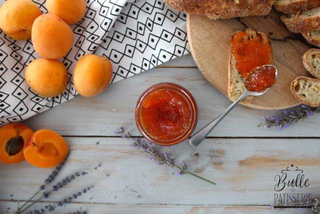 Confiture Abricot-Lavande
