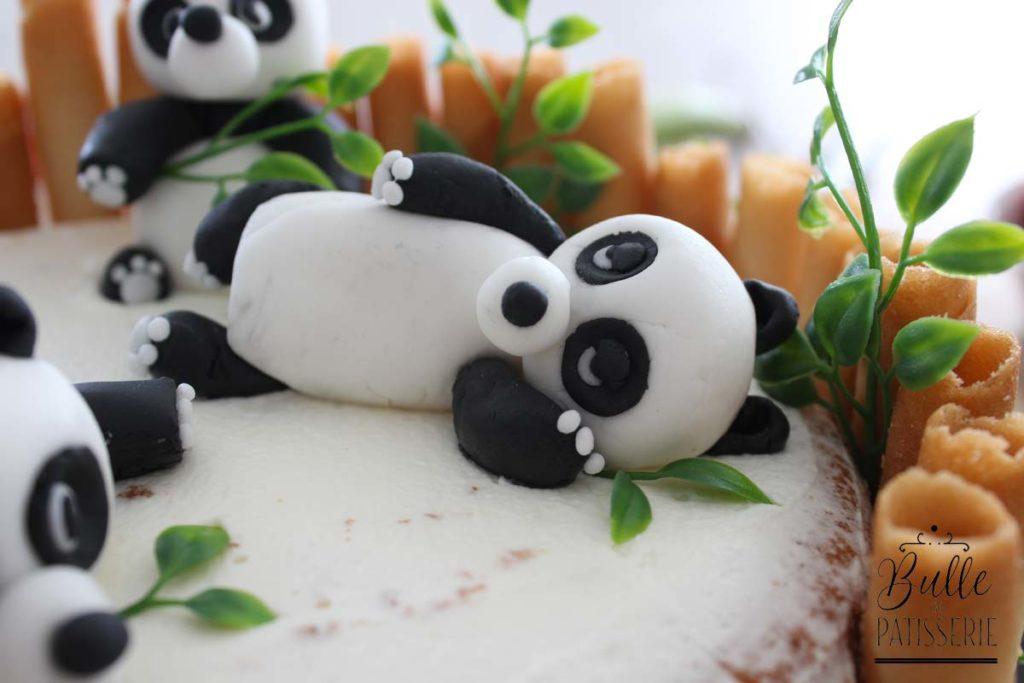 Tuto pas à pas : les pandas en pâte à sucre