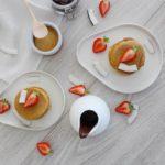 Recette express : pancakes au lait de coco