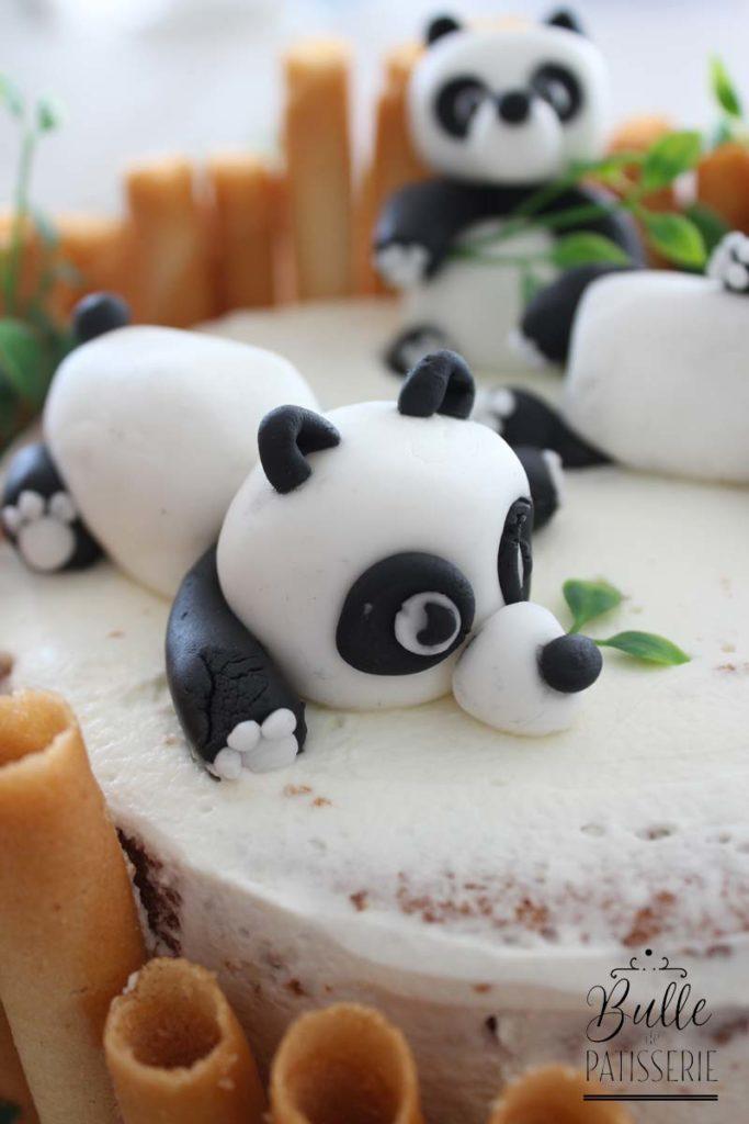 Comment faire des pandas en pâte à sucre ?