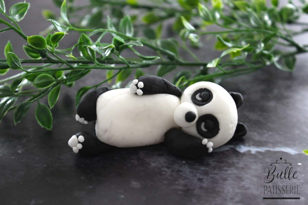 Tuto facile : le panda en pâte à sucre