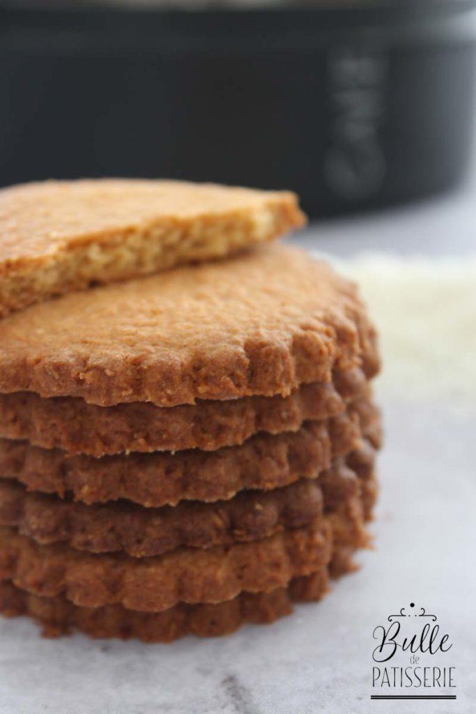 Recette de biscuits facile : sablés à la noix de coco