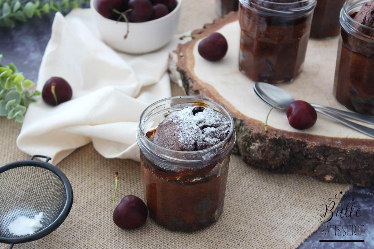 Recette de clafoutis aux cerises et au chocolat