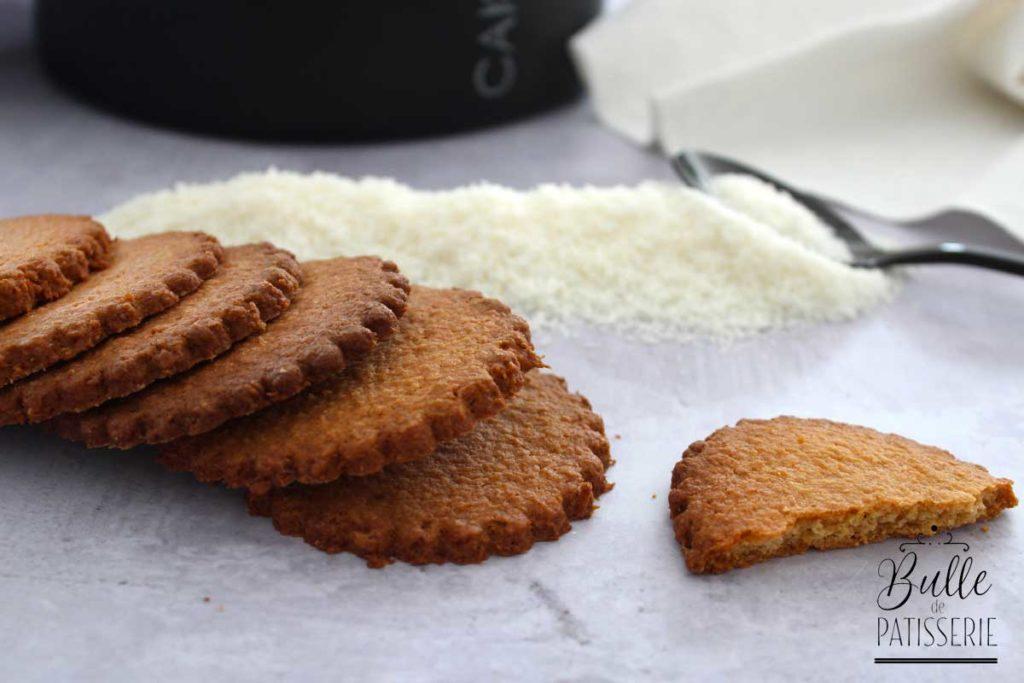 Biscuits sablés à la noix de coco