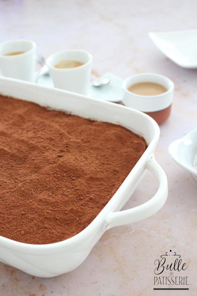 Tiramisu revisité au caramel au beurre salé