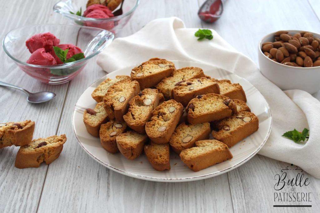 Cantuccini : recette des biscuits secs aux amandes