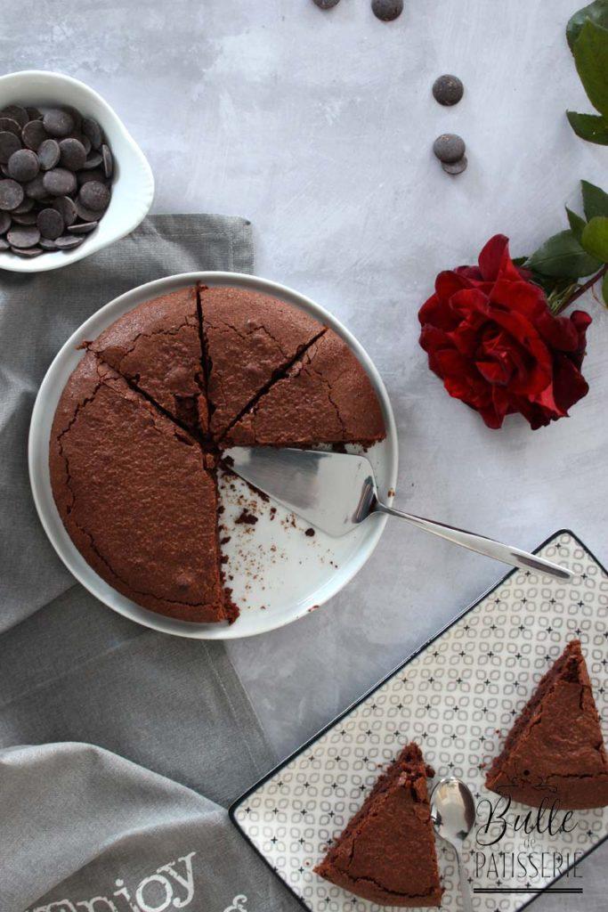 Recette de gâteau au chocolat sans jaunes d'œufs