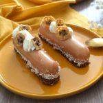 Recette d'entremets : banane-caramel