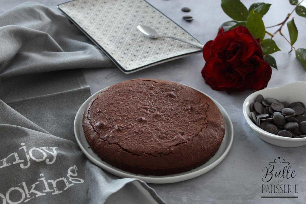 Recette de gâteau au chocolat avec des blancs d'œufs