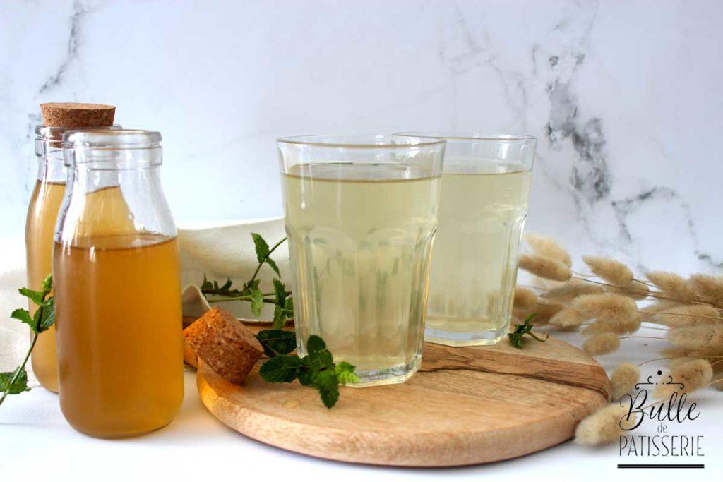Sirop maison : la recette du sirop de menthe fraîche