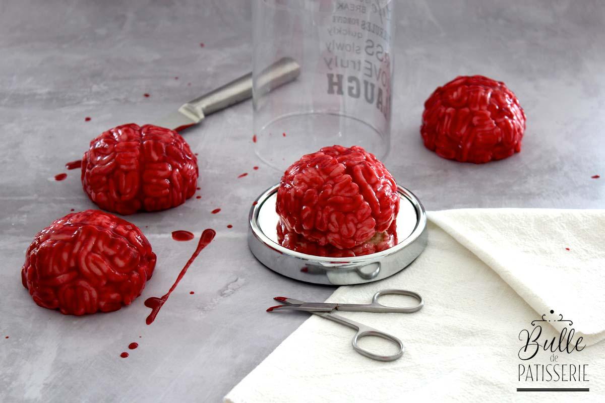 Recette d'Halloween : le gâteau cerveau