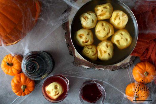 Cocktail au jus de pomme pour Hallowee, (sans alcool)