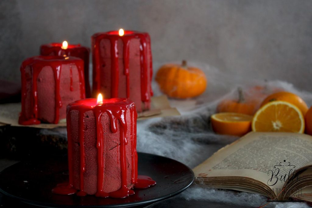 Comment réaliser un Candle Cake d'Halloween façon entremets