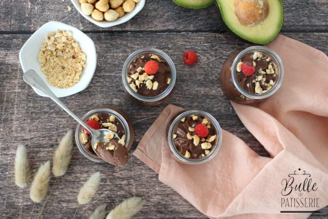 Crèmes Chocolat-Avocat