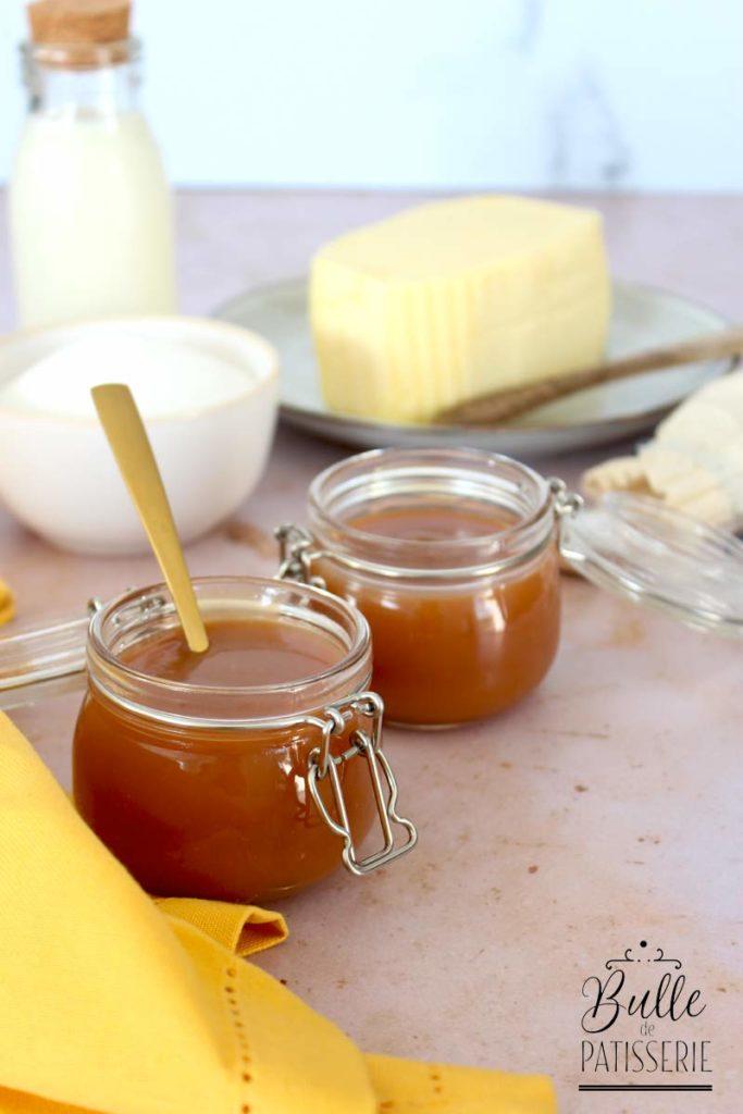 Recette facile : le caramel au beurre salé crémeux