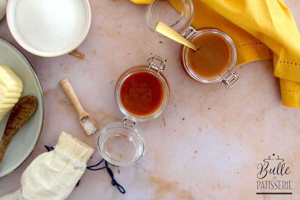 Comment faire un caramel au beurre salé liquide-crémeux