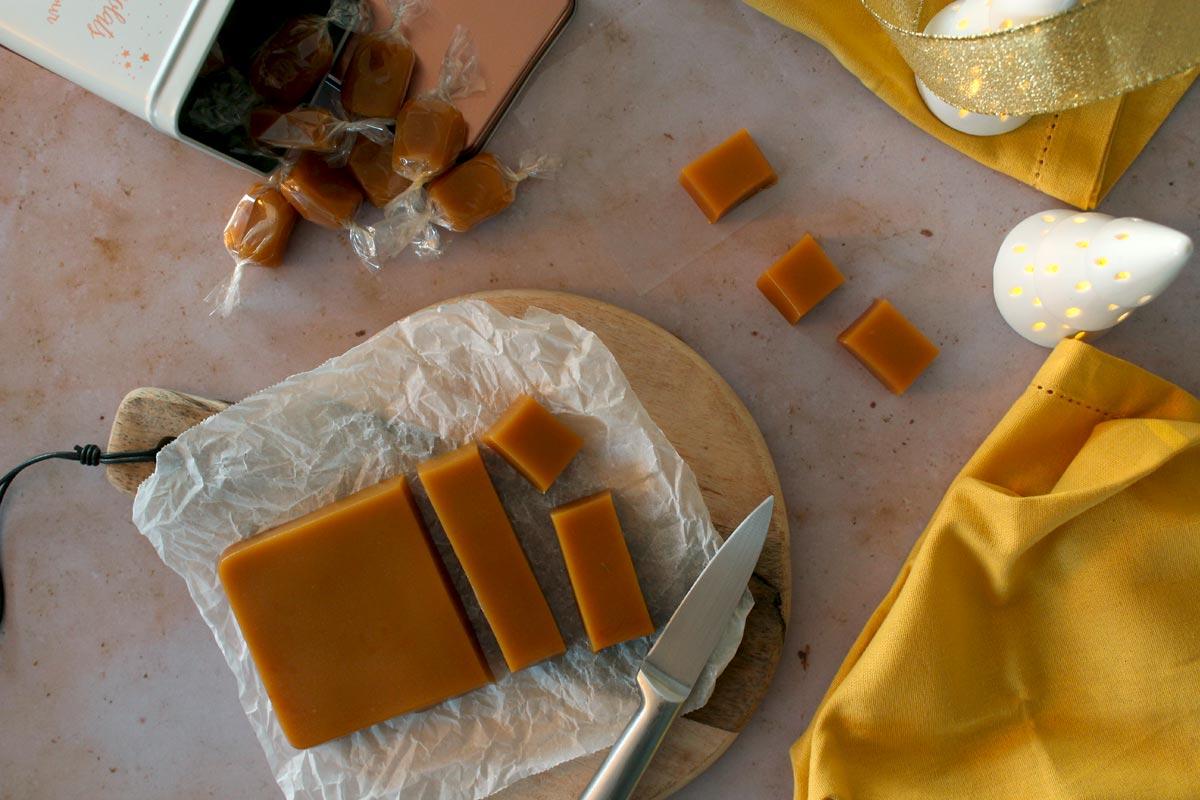 Caramels mous saveur fruit de la passion