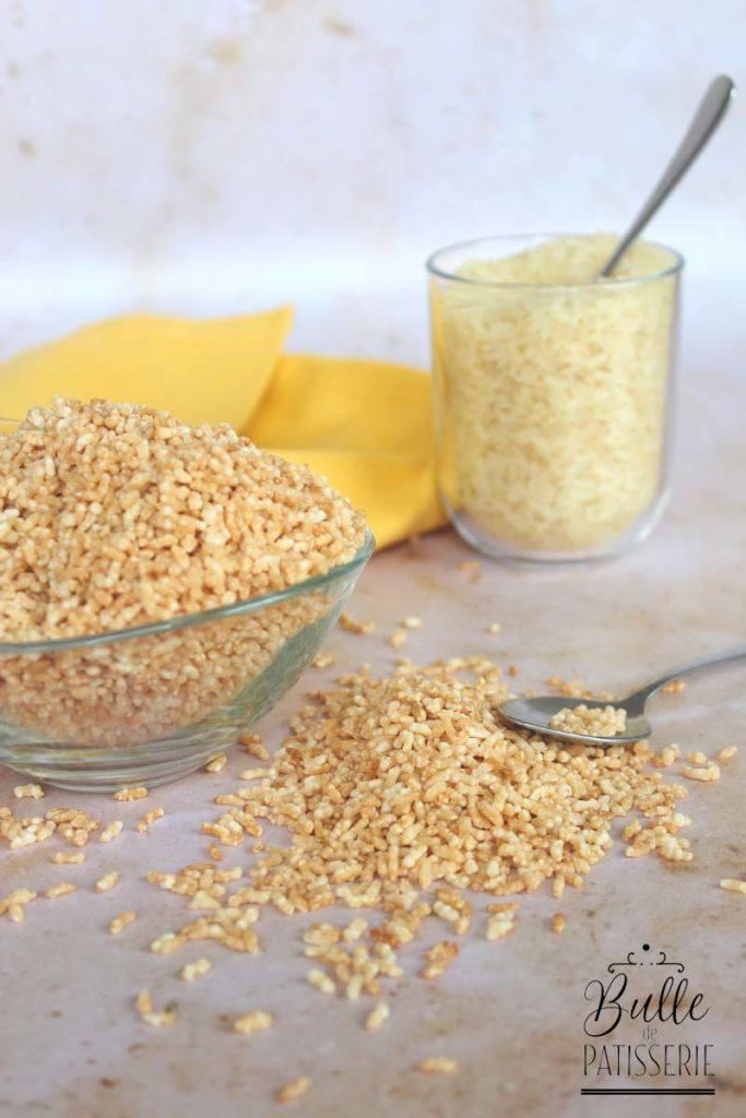 Recette : faire du riz soufflé