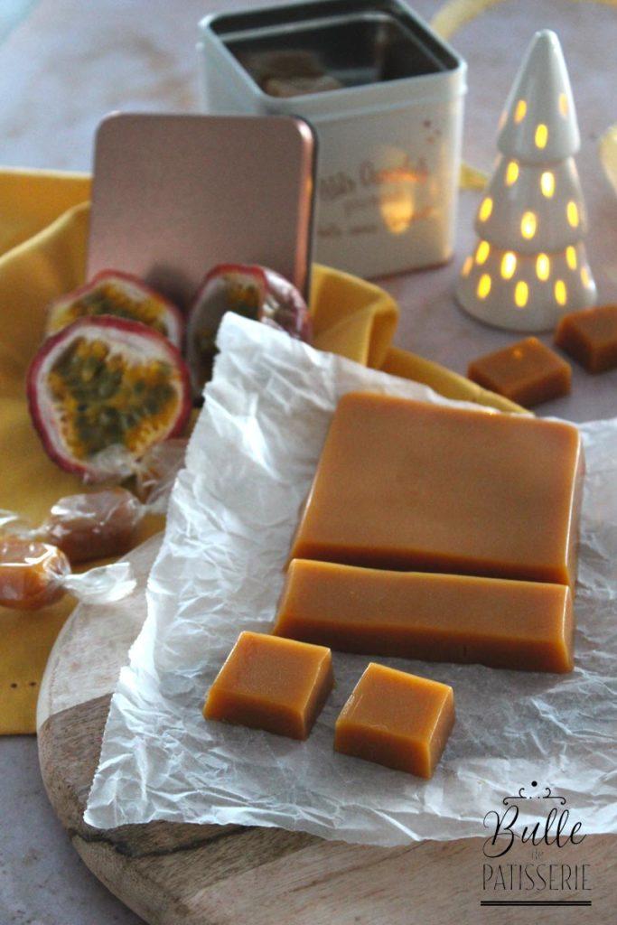 Recette facile : caramels à la passion