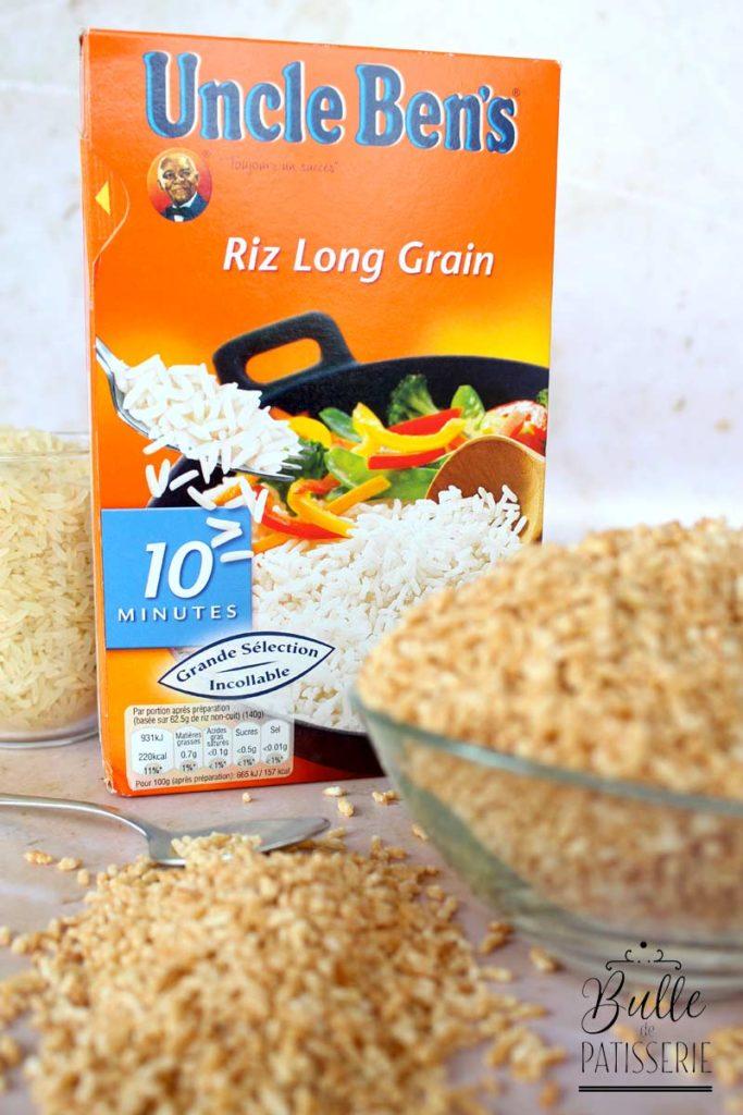 Recette du riz soufflé : choisir le bon riz