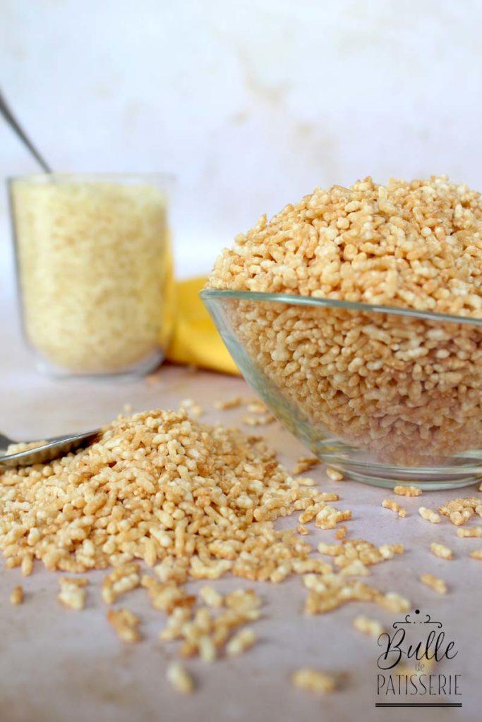 Recette de base : faire son riz soufflé maison