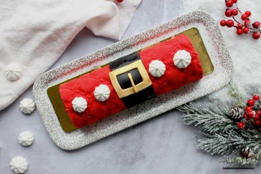 Recette de Noël sans lactose et sans gluten : bûche Citron-Framboise façon entremets