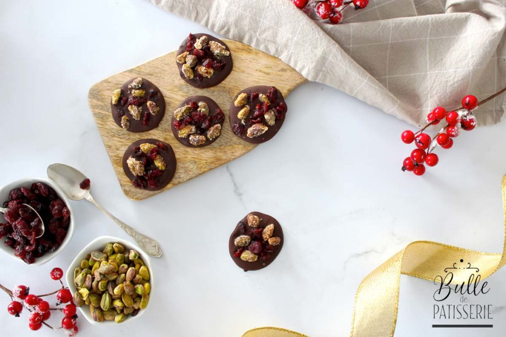 Comment faire des mendiants au chocolat brillants ?