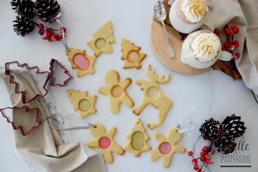Recette de Noël : biscuits vitraux