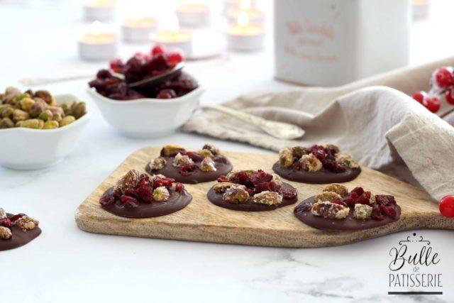 Mendiants Pistaches-Cranberries