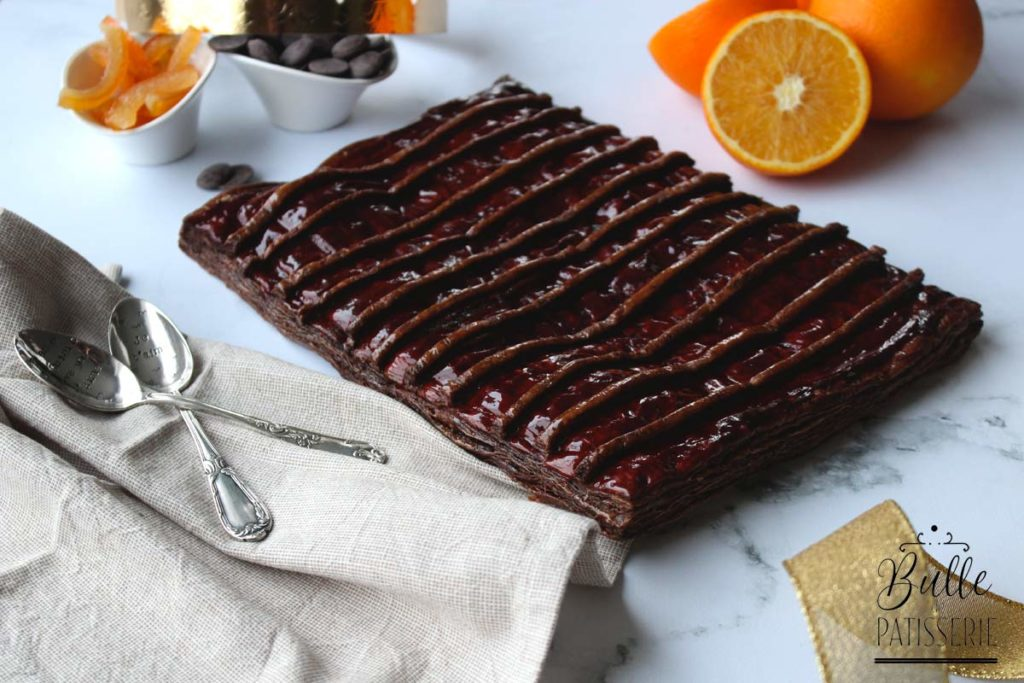 Recette de Galette des rois : frangipane chocolat-orange
