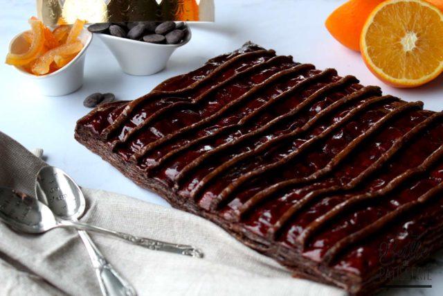 Galette des rois Chocolat-Orange