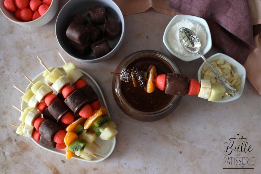 Recette de fondue au chocolat