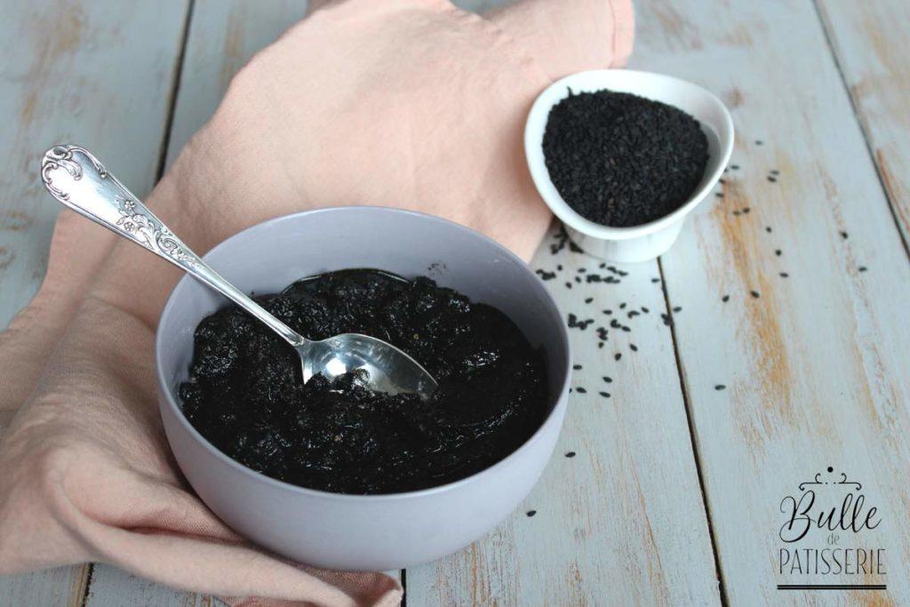 Comment faire de la crème de sésame noir ?