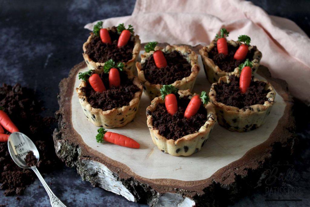 Trompe l'œil de Pâques : Carrot Cookies Cup