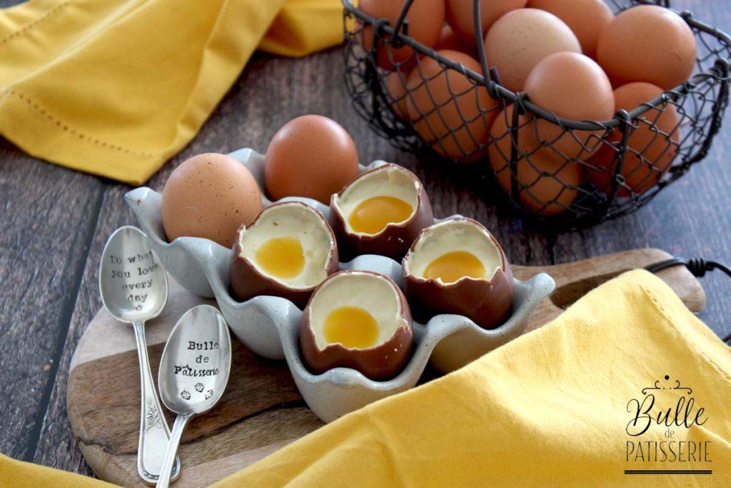 Recette de Pâques : œuf coque en trompe l'œil
