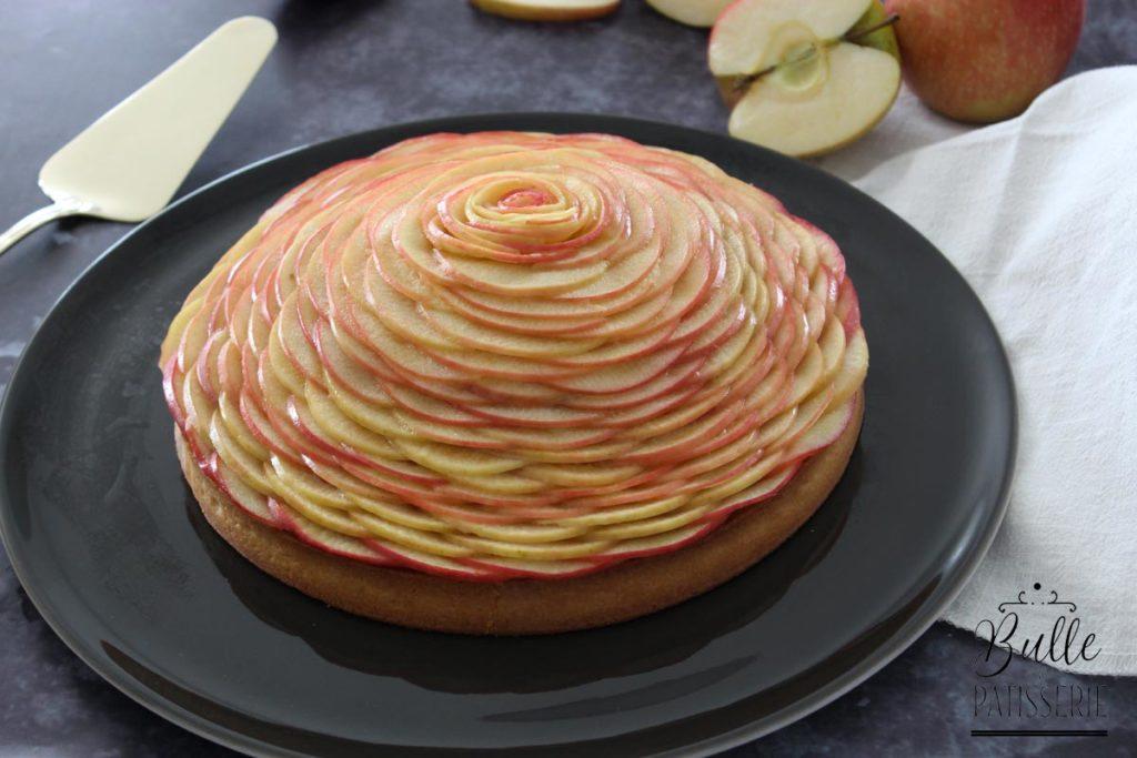 Tarte aux Pommes en dôme façon C. Grolet