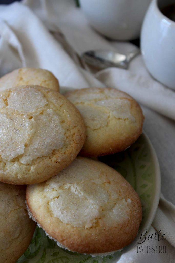 Recette maison : biscuits sucre-citron