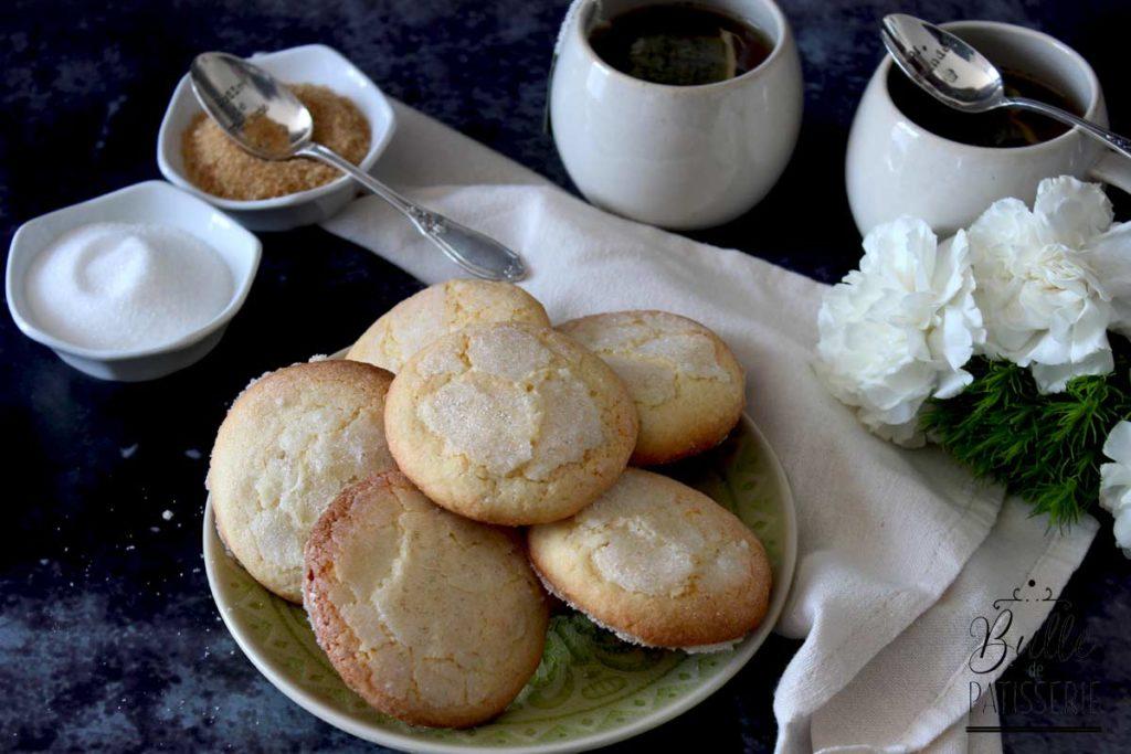 Goûter maison : biscuits citron-sucre