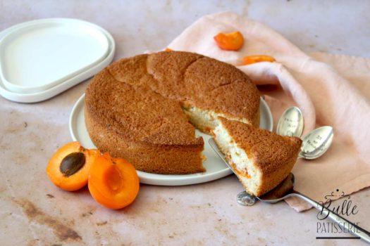 Gâteau maison : financier géant à l'abricot