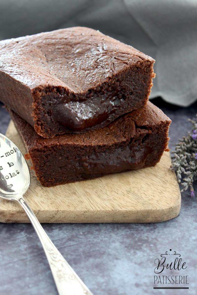 Le cakounet : cake au chocolat au cœur coulant